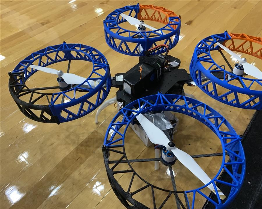 Drone built by RHS engineering students