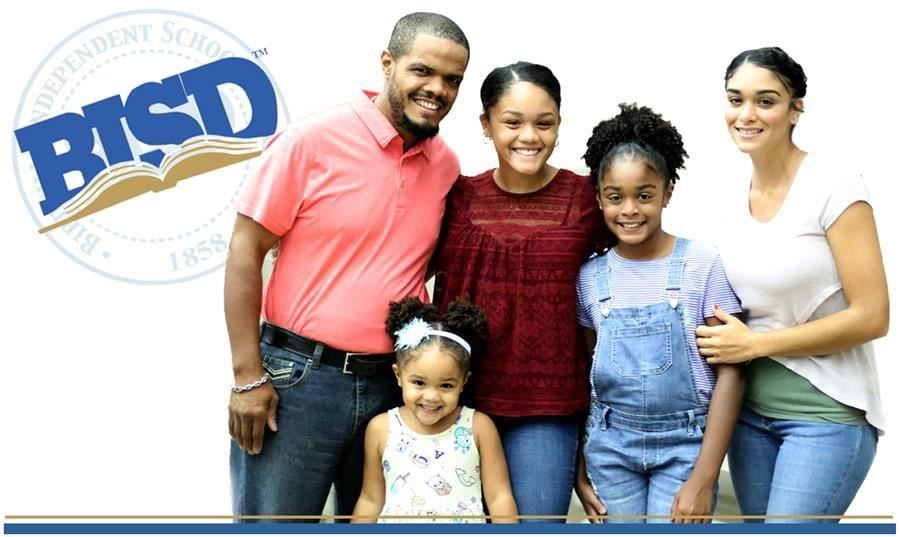BISD logo with family