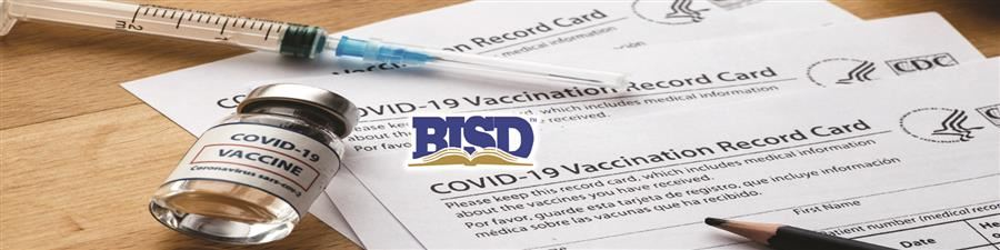 COVID Vaccination form and vaccine