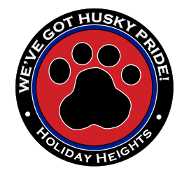 Logo Holiday Heights Elementary