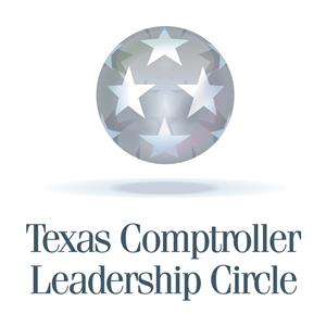 TX Comptroller Leadership Circle award