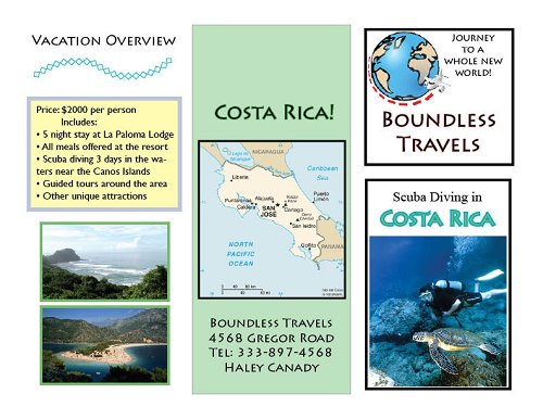 Travel Brochure  Welcome