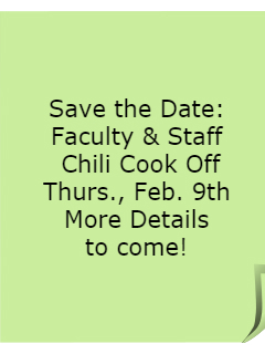 Announce Chili Cook Off