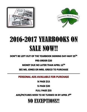 Yearbook & Ad Flyer
