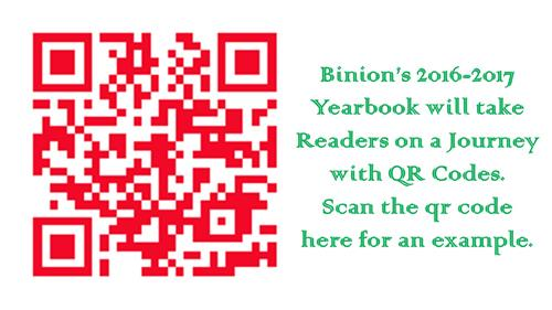 qr code yearbook experience