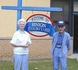 Mrs. Gloria Binion and Mr. Jack C. Binion