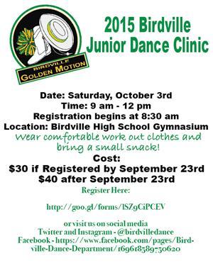 Jr Clinic Flyer