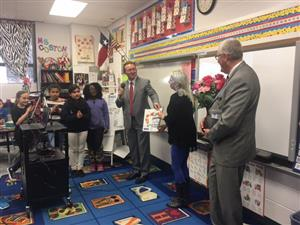 Holiday Heights Teacher of the Year