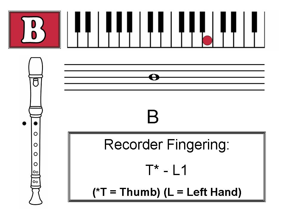 Notes to play the recorder http schools birdville k12 tx us page