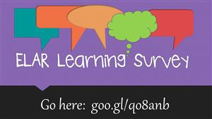 ELAR Learning Survey