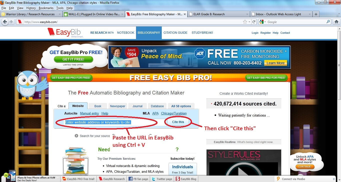 easybib book review It's an easy choice my review of easybib together their paper using note cards that were filled with the information they found in books and.