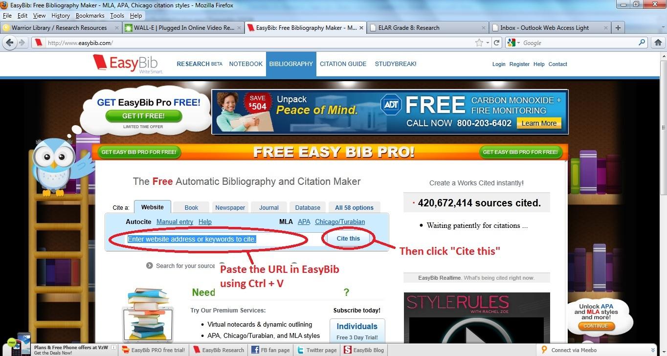 essay bib adorno essay on wagnereasybib pro automatically generates ...