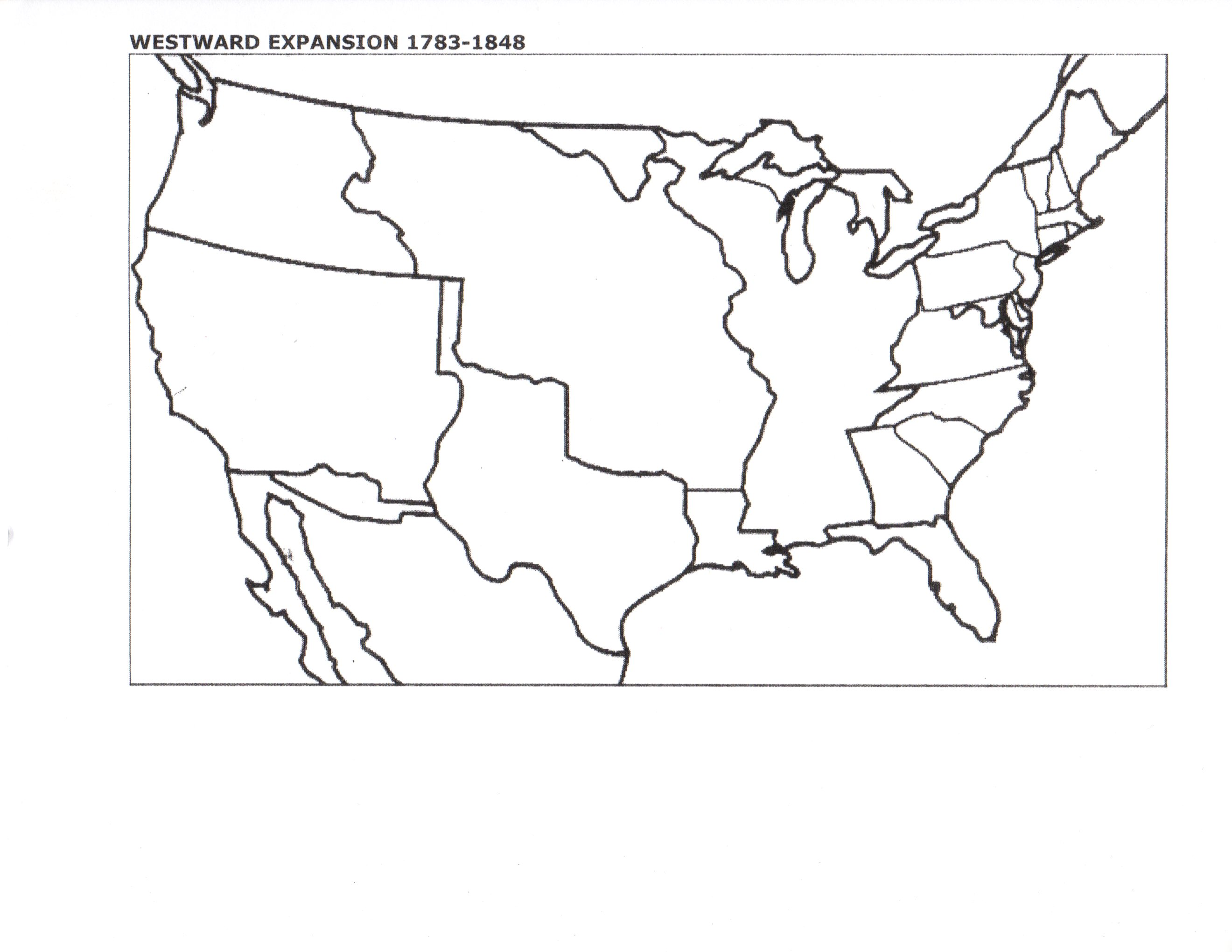Best Editable USA Map Designs For Microsoft PowerPoint USA County - Detailed map of us during westward expansion