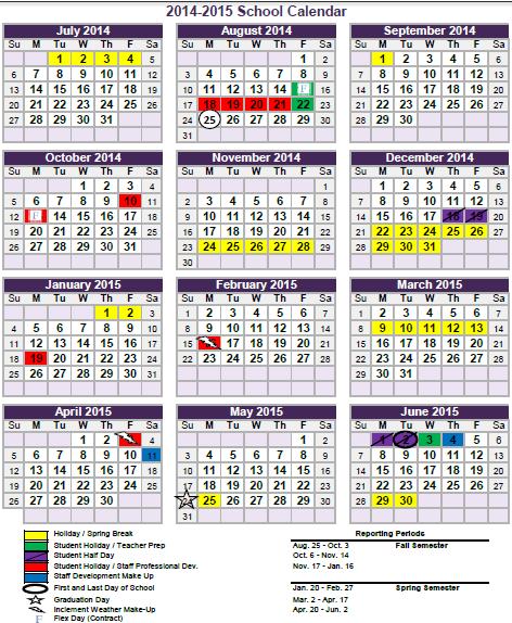 Fisher, Eva (3rd) / BISD Calendar