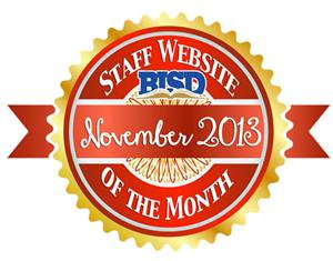 Staff Website of the Month November