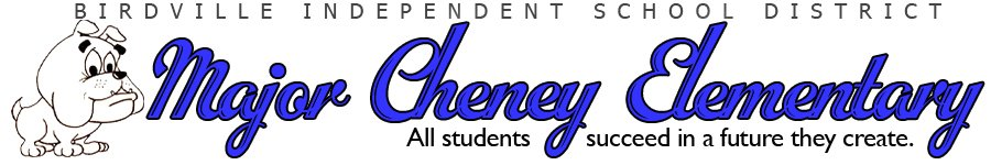 Major Cheney Elementary at South Birdville